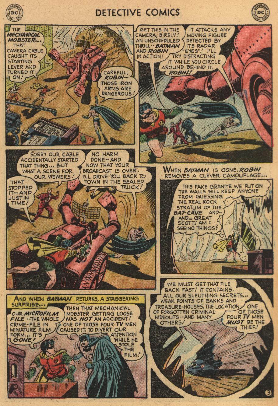Read online Detective Comics (1937) comic -  Issue #229 - 5
