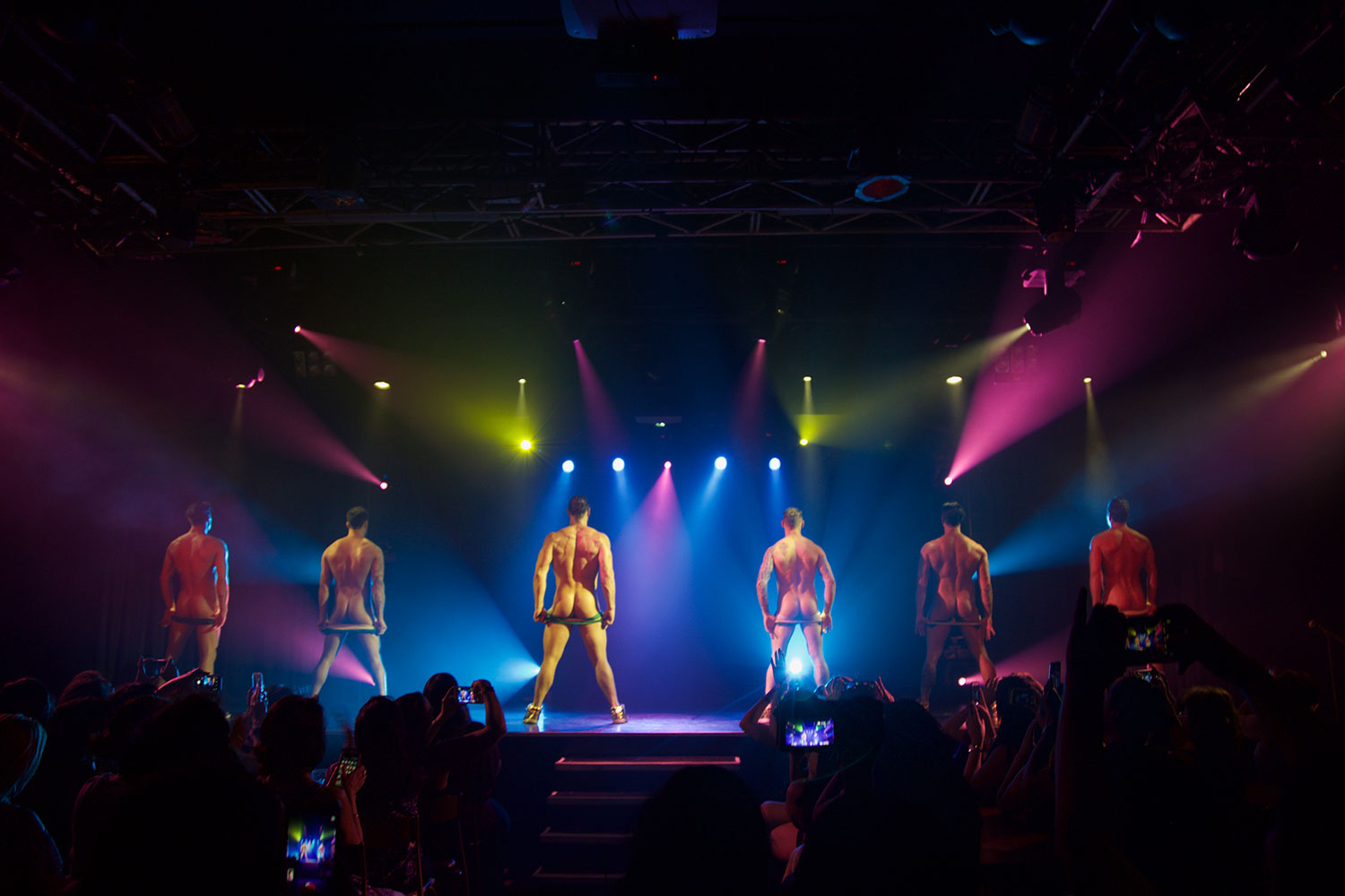 Thunder From Down Under - Butts, male revue, backstreet butts