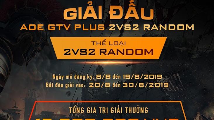 [AoE] Tổng kết Vòng Sơ Loại 3 giải đấu AoE GTV Plus 2v2 Random