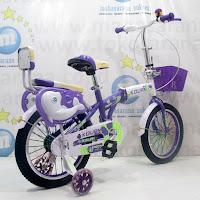 16 kouan 1601 folding sepeda lipat anak
