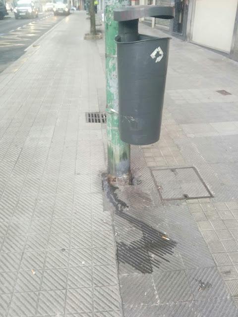 calle sucia