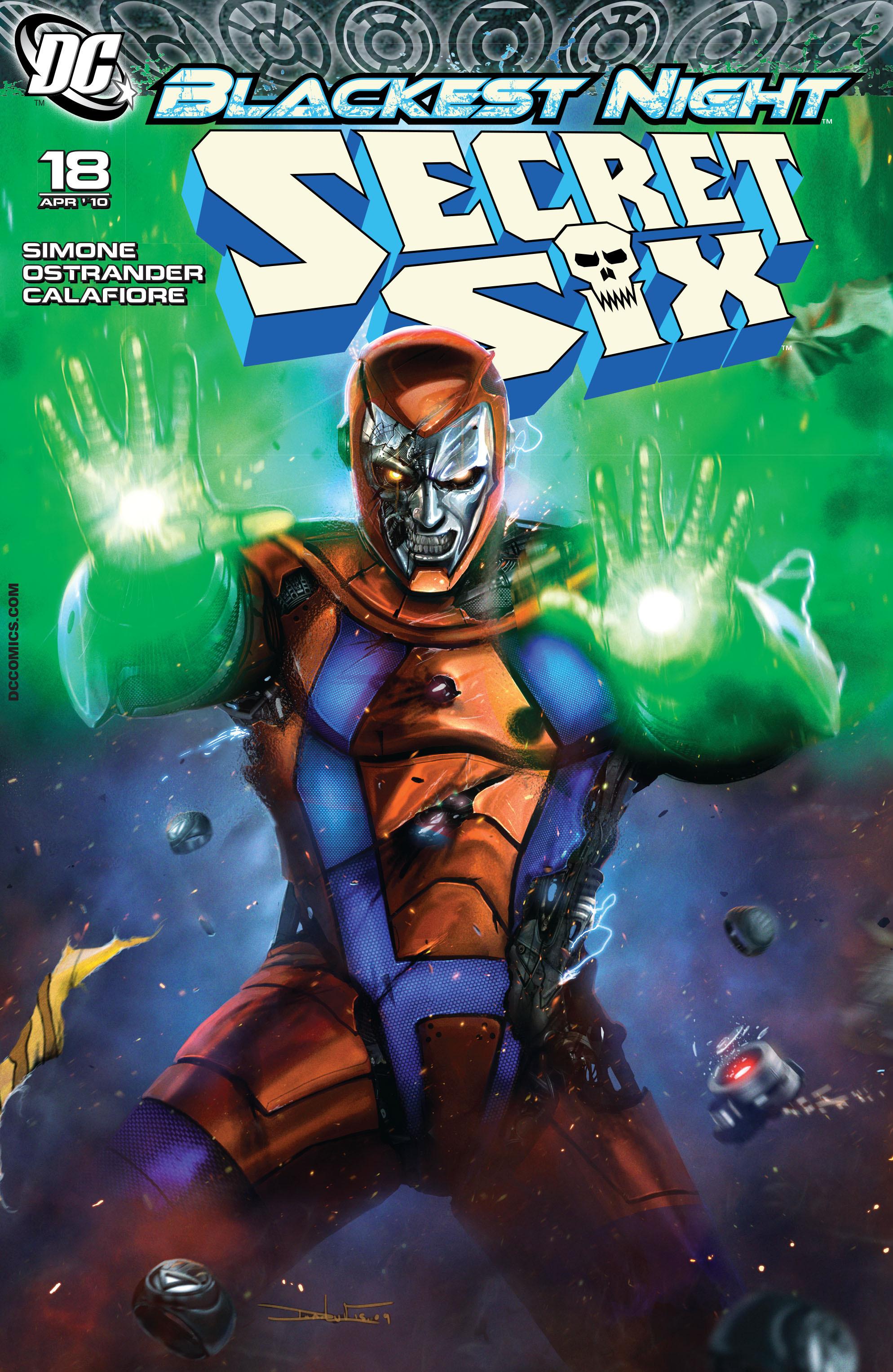 Read online Secret Six (2008) comic -  Issue #18 - 1