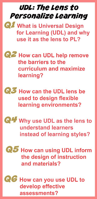 Personalize Learning Udl The Lens To Personalize Learning