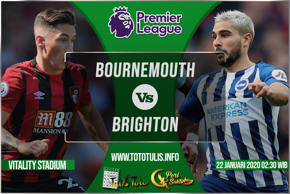 Prediksi Bournemouth vs Brighton 22 Januari 2020