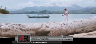 Lirik Lagu Minang David Iztambul - Cinto Sapilin Tigo