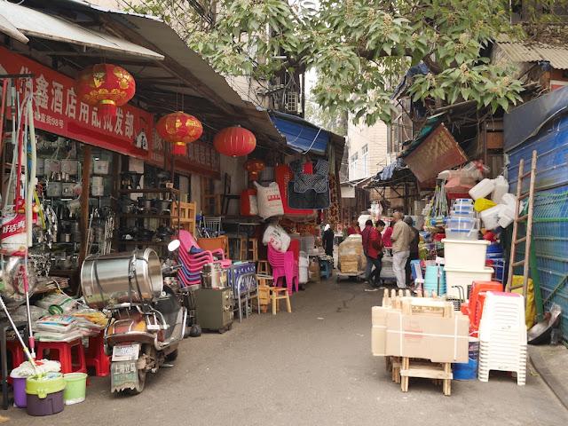 Yanjiatang Lane (晏家塘巷) in Changsha