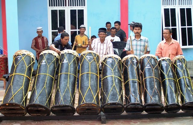 Nama Gambar Alat Musik Tradisional Dari Sumatera Utara