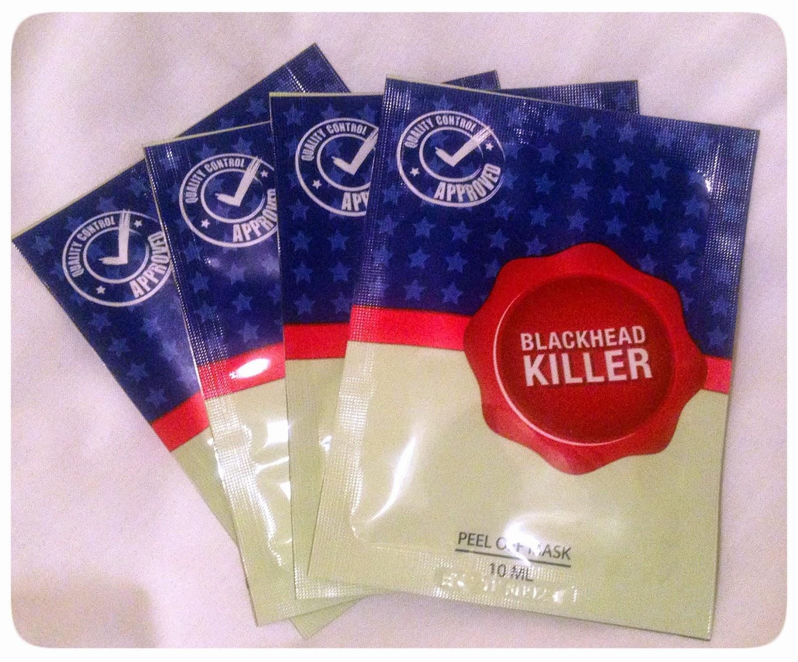 Blackhead Killer peel off mask: Review