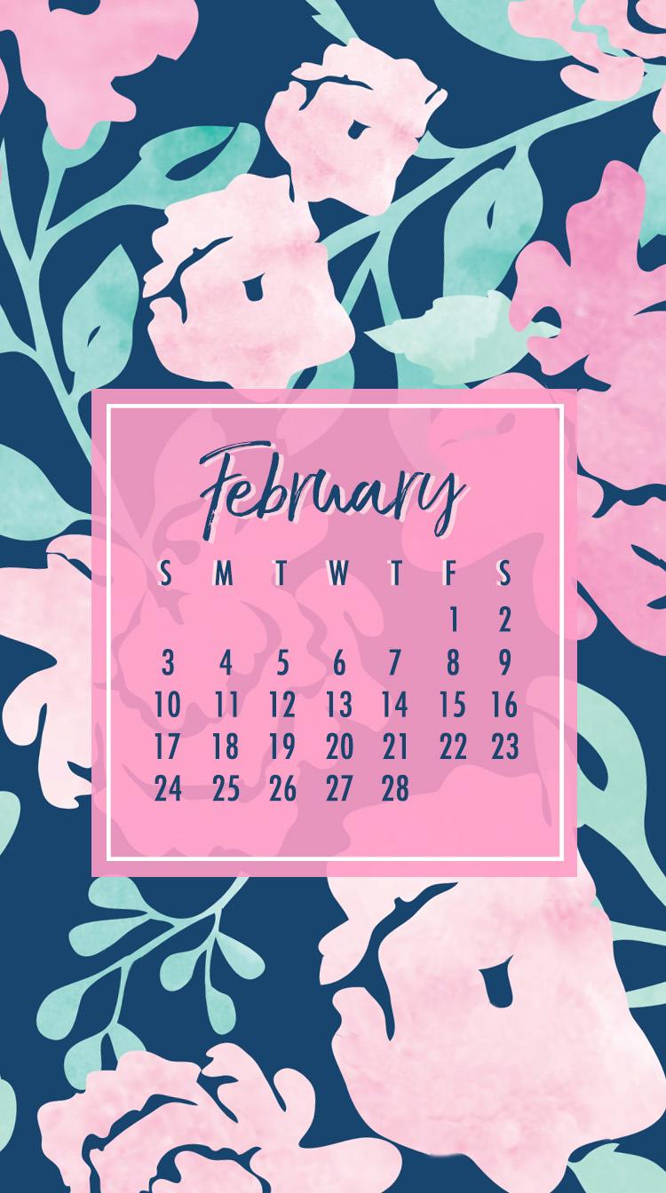 free february calendar for you