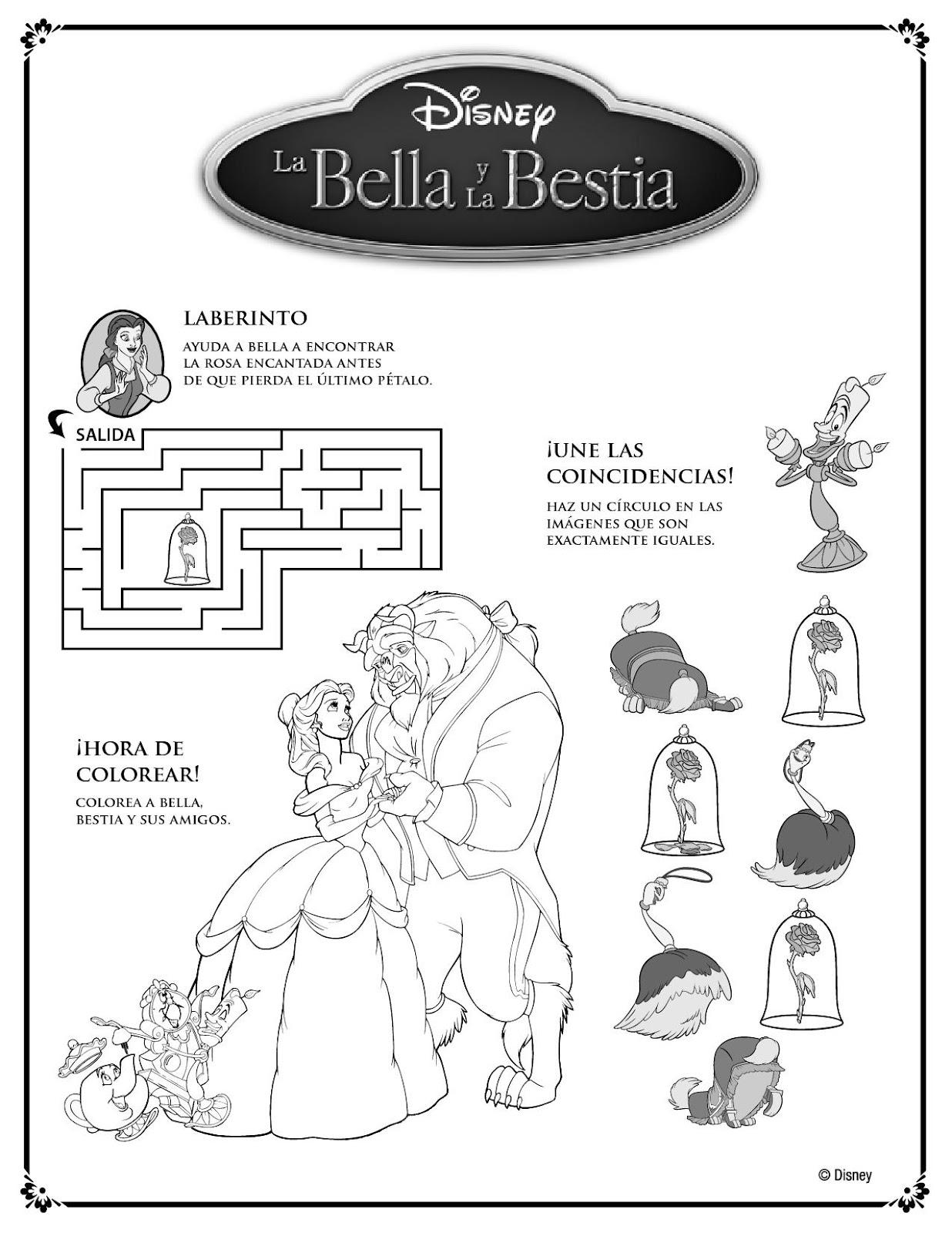 La Bella Y La Bestia Propuesta Didactica