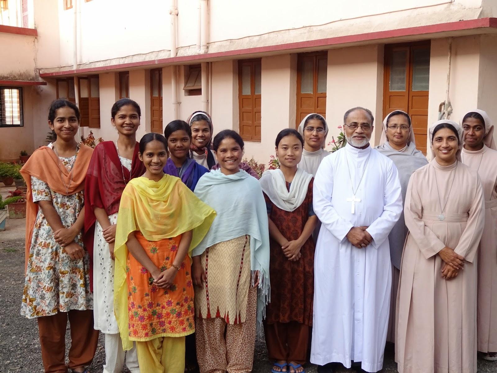 Sagar Diocese: Sagar: Visit of Bishop Thomas ...