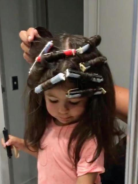 Diklaim Mirip Rapunzel, Rambut Bocah Ini Indah Berkilau