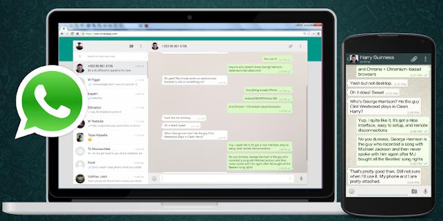 Cómo pasar información desde un PC al movil usando Whatsapp