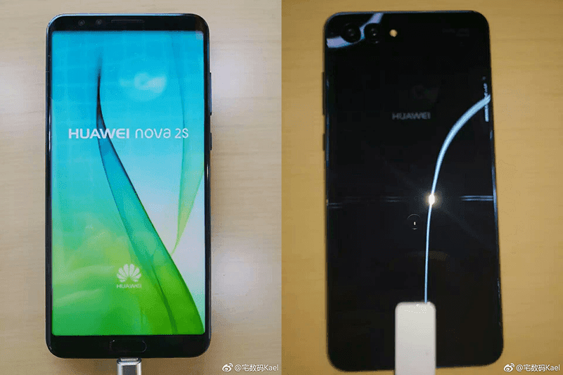 Huawei Nova 2S w/ 18:9 screen and Kirin 960 chip leaked!