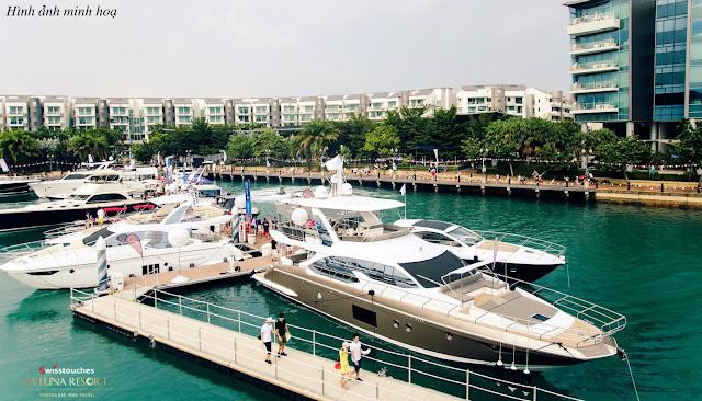 bến du thuyền Laluna Resort Nha Trang