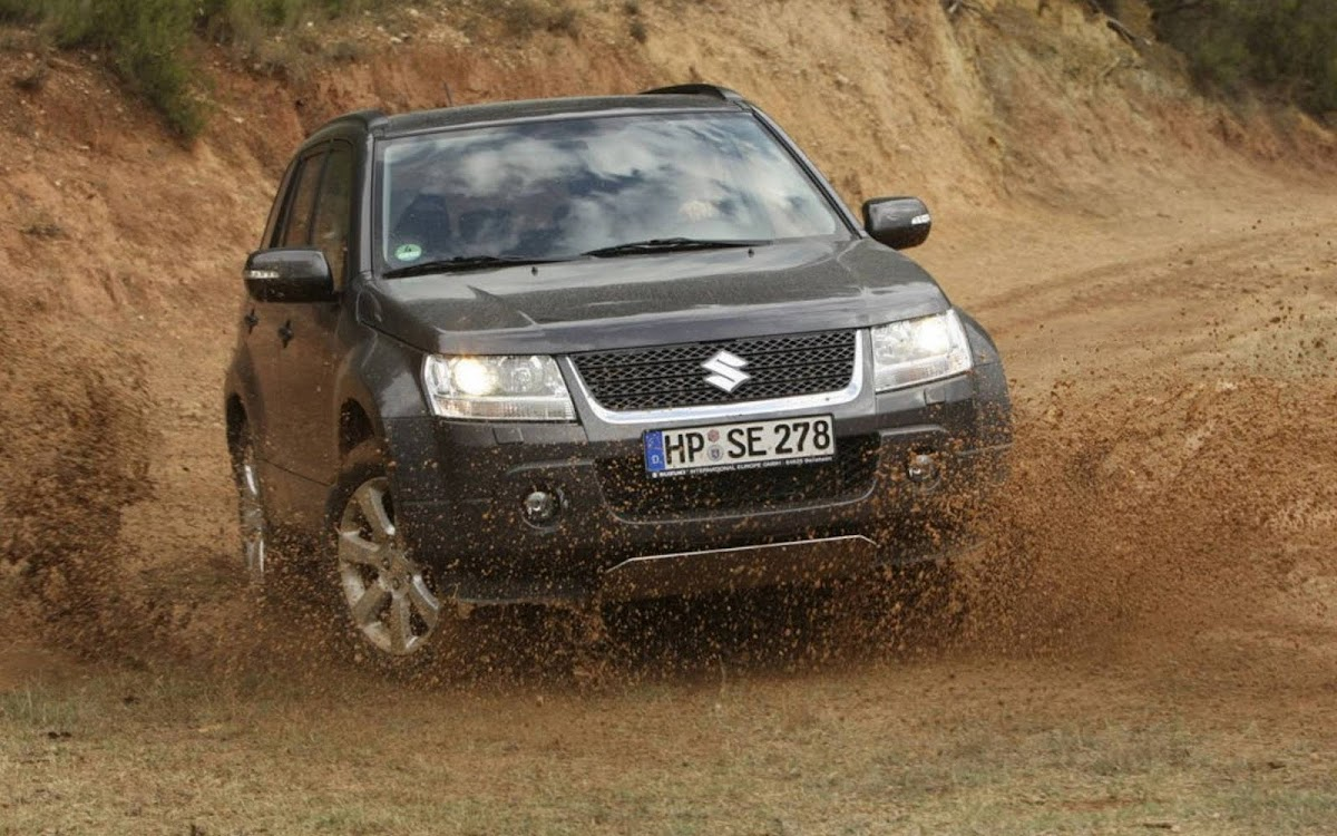 Suzuki Grand Vitara Off Road Widescreen HD Wallpaper 9