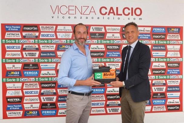 e08cec7e7 Nordor Batterie è il secondo sponsor di maglia del Vicenza Calcio ...