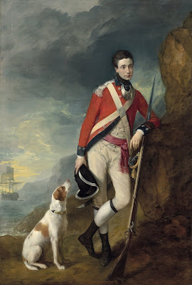 1. Painting of Richard St George by Thomas Gainsborough. Credit National Gallery of Victoria, Melbourne, Felton Bequest, 1922