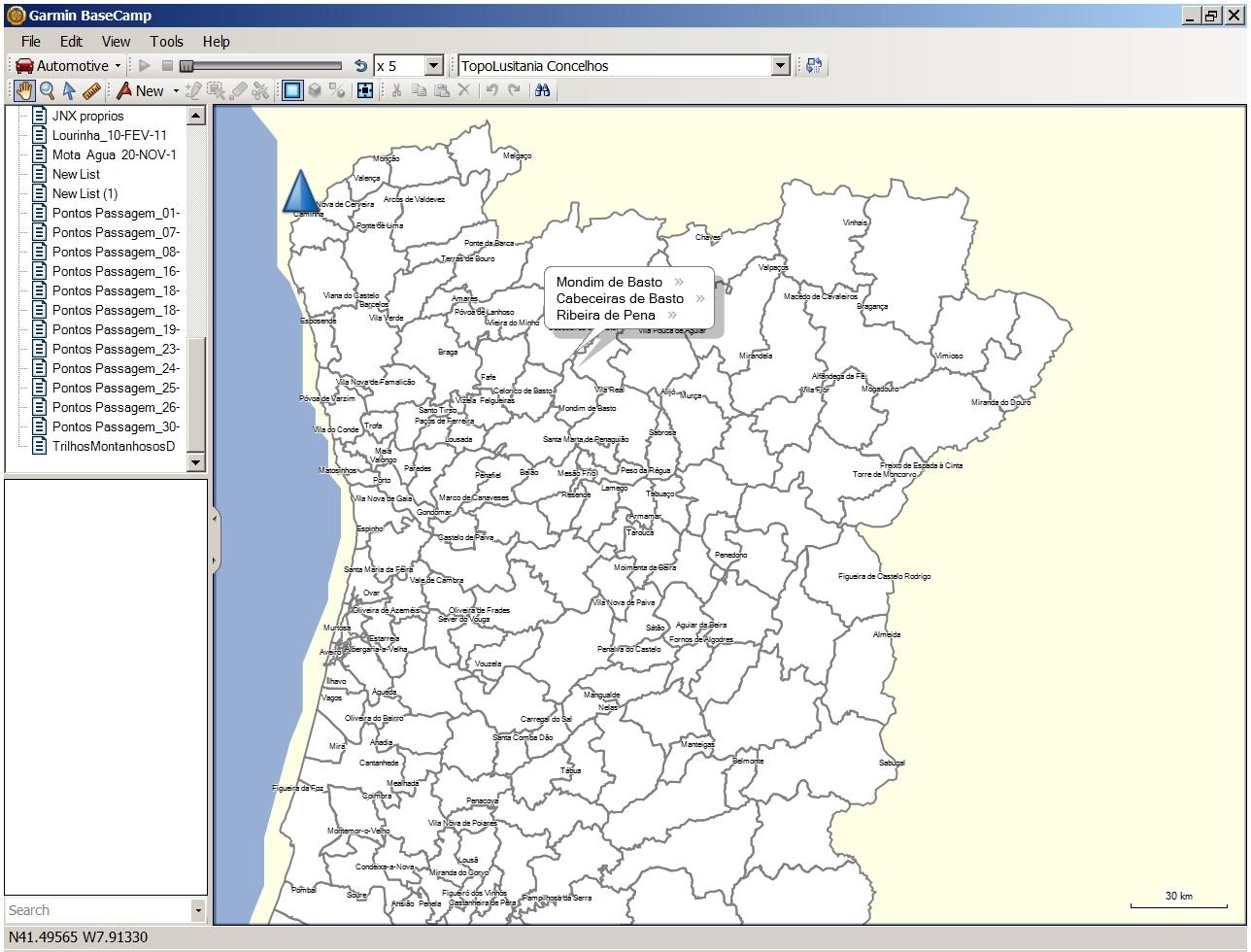 mapa de portugal continental com concelhos TopoLusitania   Mapa Topográfico de Portugal para GPS em formato  mapa de portugal continental com concelhos