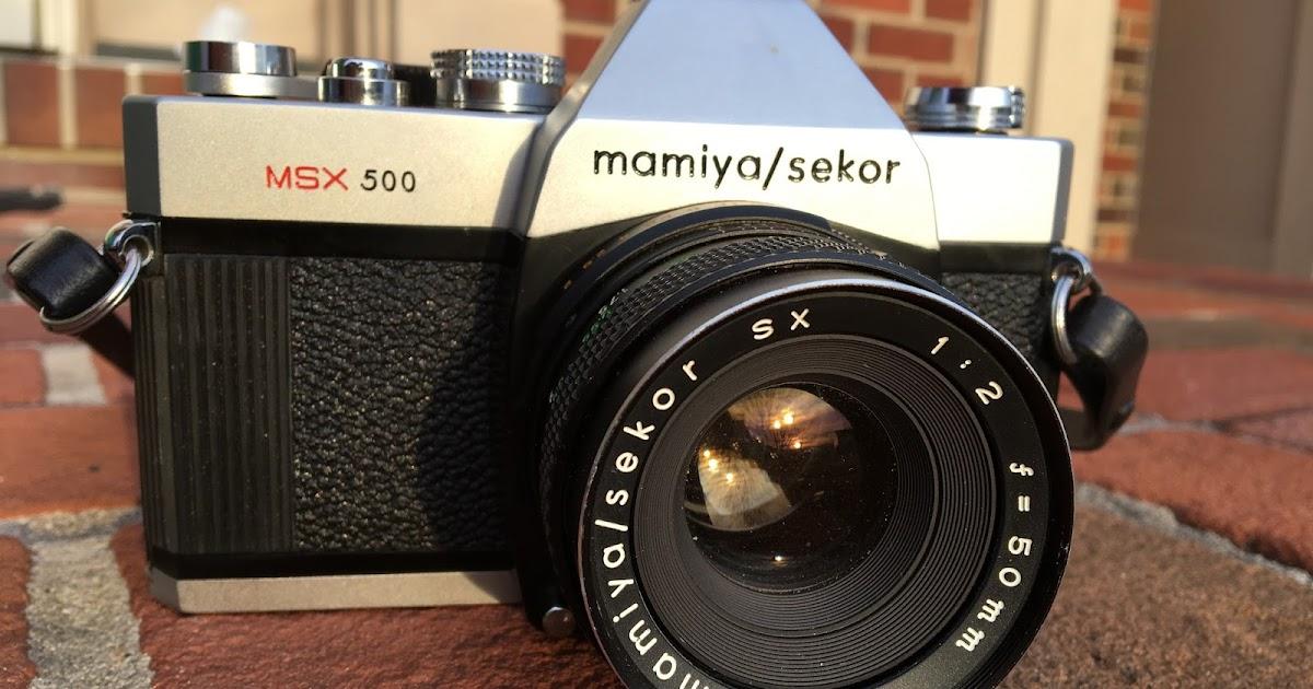 a58503828424 Third Time s The Charm  The Mamiya MSX-500