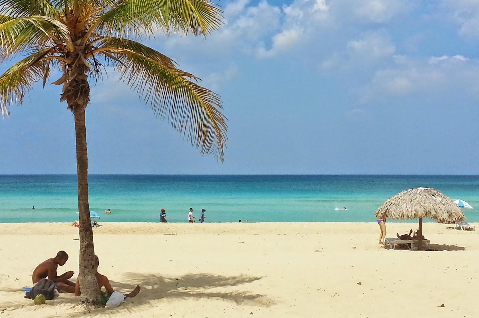Playa Mar Azul, a preferida dos moradores de Havana