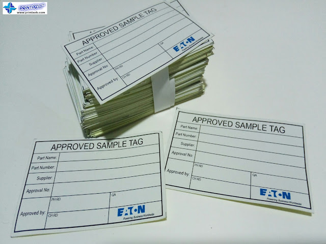 Approved Sample Tags - Eaton Industries Philippines
