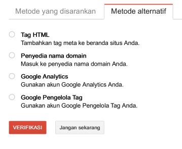 cara daftar webmaster