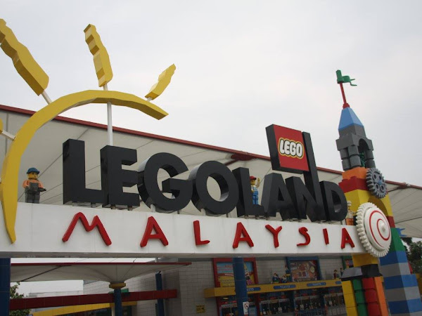 Tarikan Baru di Watertheme Park Legoland : Build Your Boat