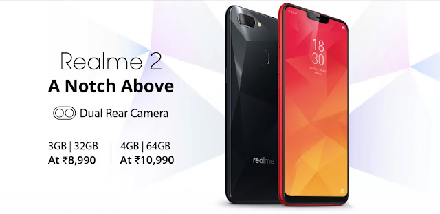 Oppo Realme 2 launched in India