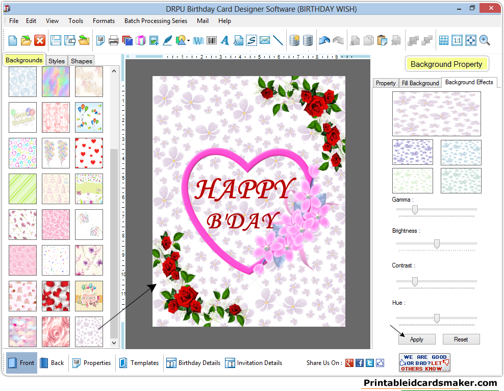 Free Greeting Card Making Software Gallery greeting card designs