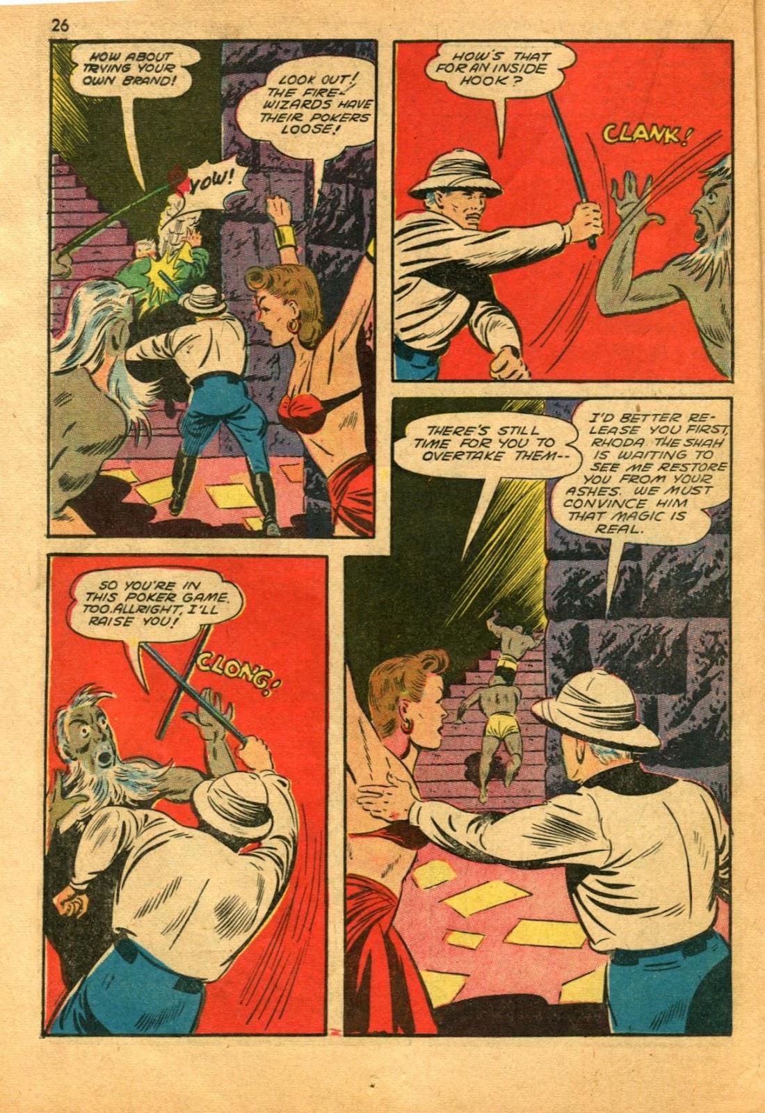 Read online Super-Magician Comics comic -  Issue #11 - 26