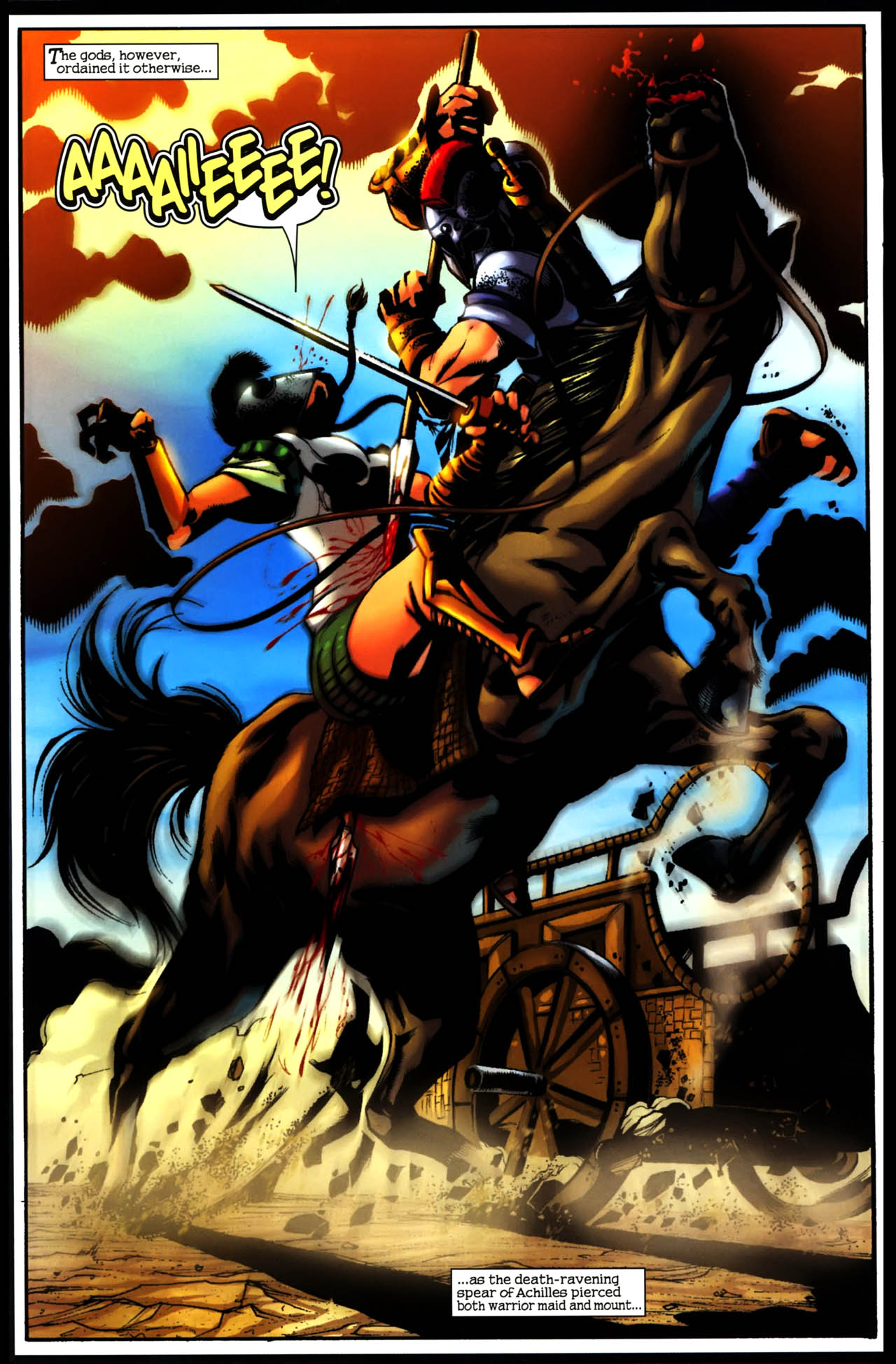 Read online Trojan War comic -  Issue #3 - 14