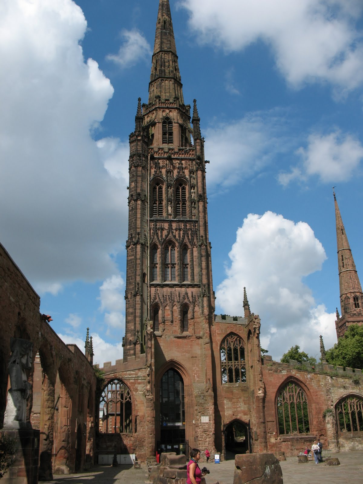 Flying Buttresses July 9 Coventry And Rugby