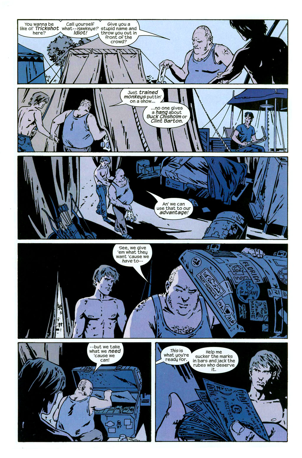 Hawkeye (2003) Issue #2 #2 - English 3
