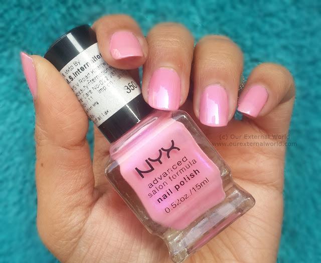 NYX Advanced Salon Formula Nail Polish - Review and Swatches