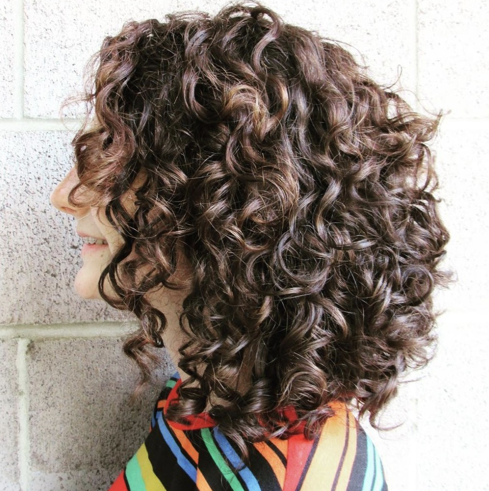 How To Style Naturally Curly Hair Latesthairstylepedia Com