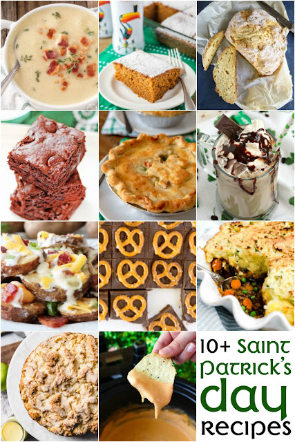 Get your Irish on with these 10+ St. Patrick's Day Recipes!