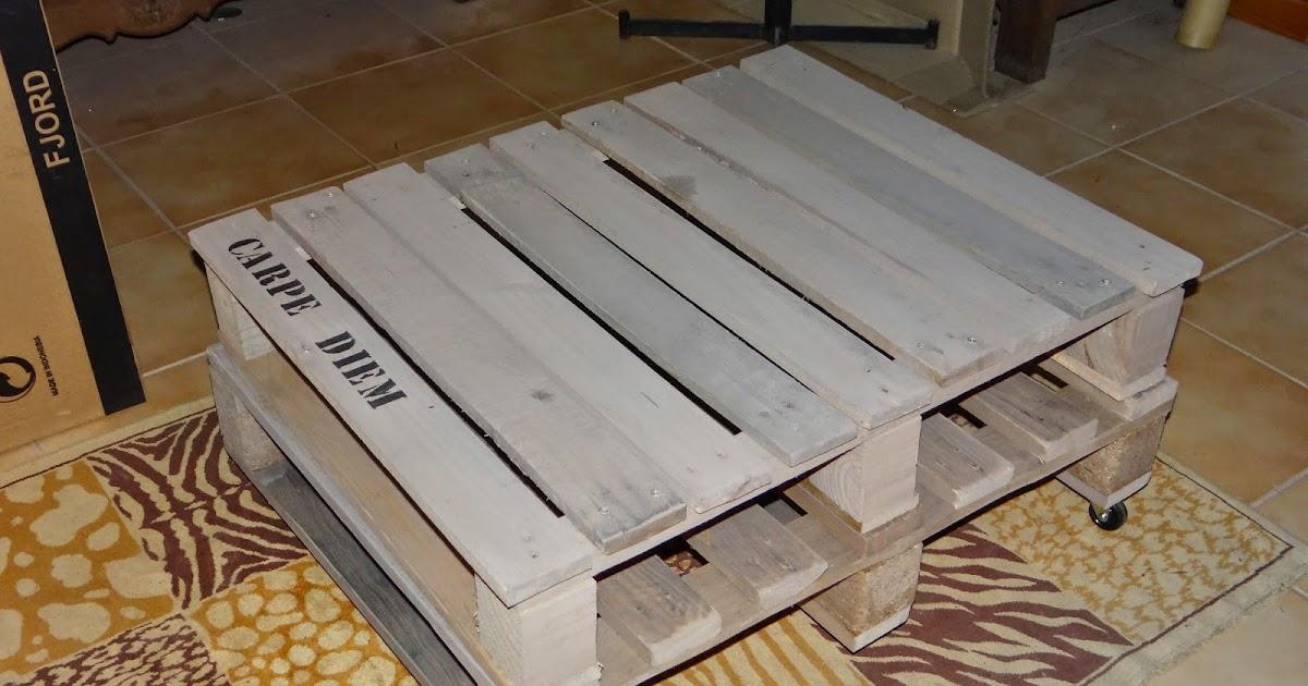 le scrap de vitrioline table basse en palette. Black Bedroom Furniture Sets. Home Design Ideas