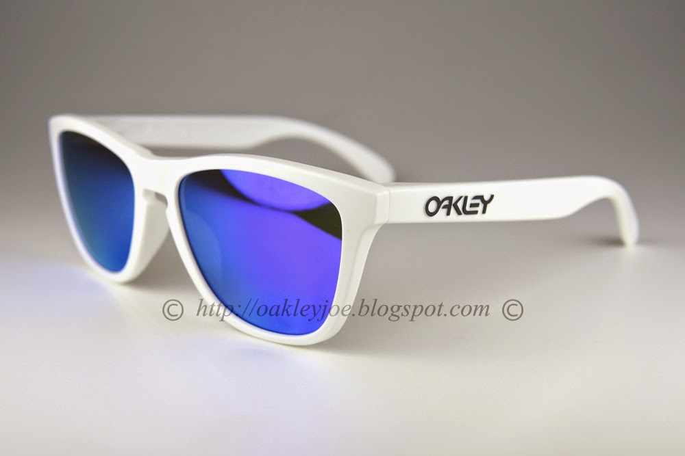 4674916f23 Oakley Frogskins White Violet Iridium « One More Soul