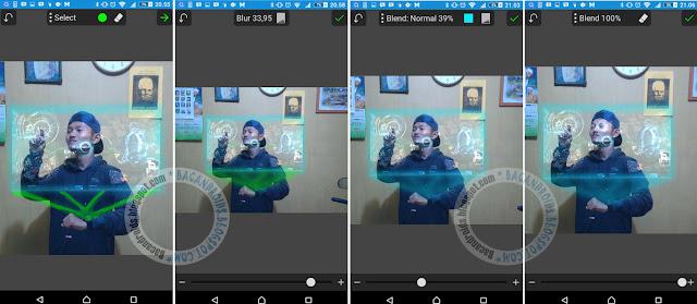 Tutor Buat Efek Hologram seperti ironman