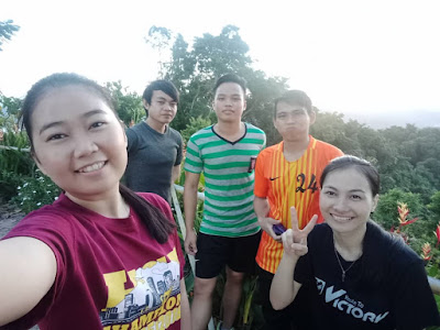 HIKING WITH FREINDS AT NULUH LAPAI HILLS | WINICHELEN WONGKIN