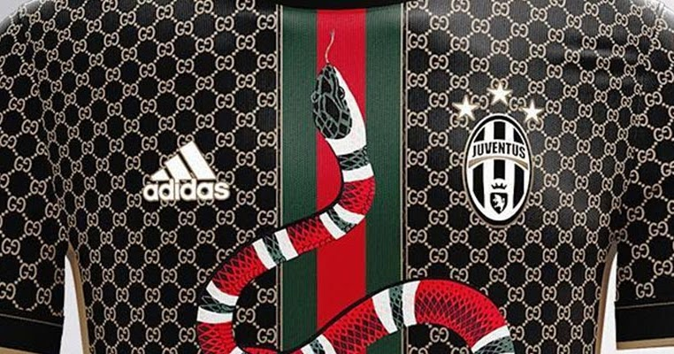 Kit by Juventus - Concept Gucci Headlines Footy Settpace
