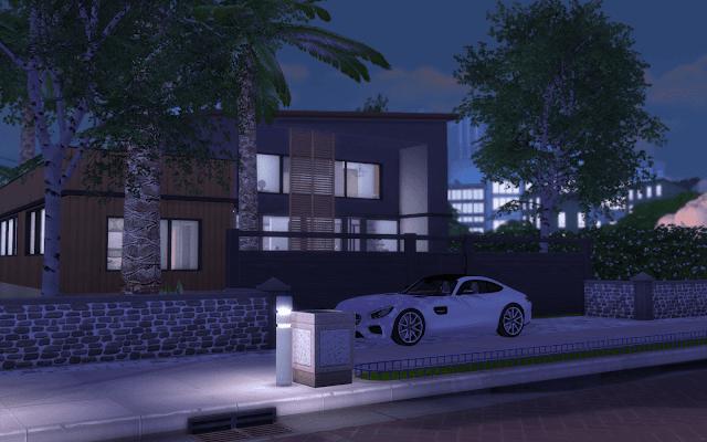 villa luxury sims 4
