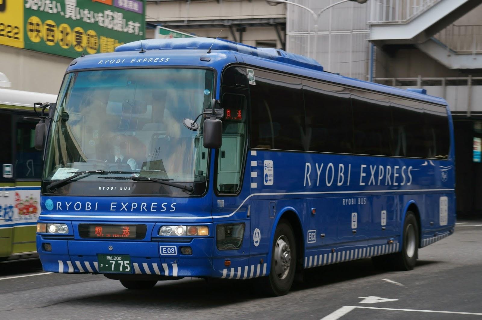 広島のバス: 両備バス 岡山200か775