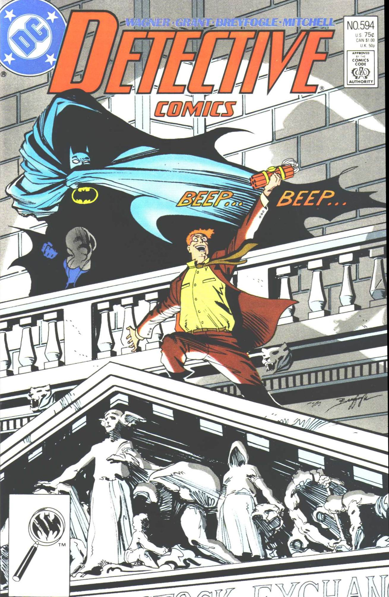 Detective Comics (1937) 594 Page 0