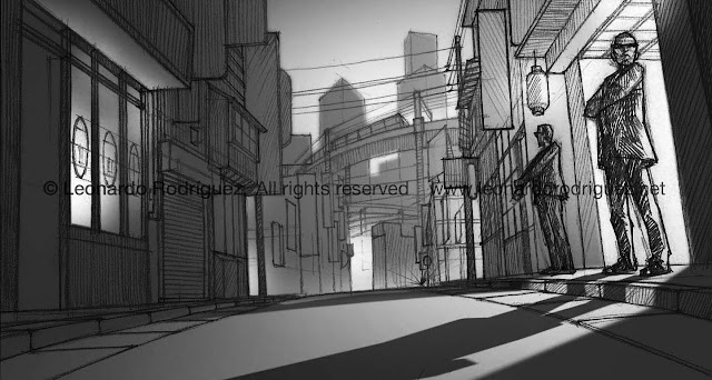 storyboard illustration artist