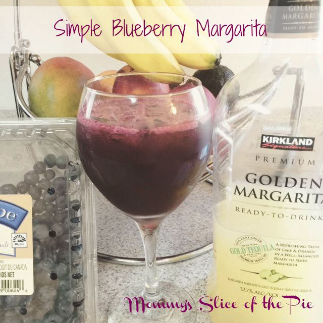 Mommy's Slice Of The Pie: Simple Summer Blueberry Margarita