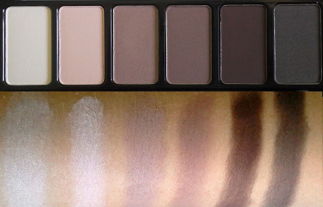Catrice Absolute Matt Eyeshadow Palette: 010 Eyes Wide Matt review swatches