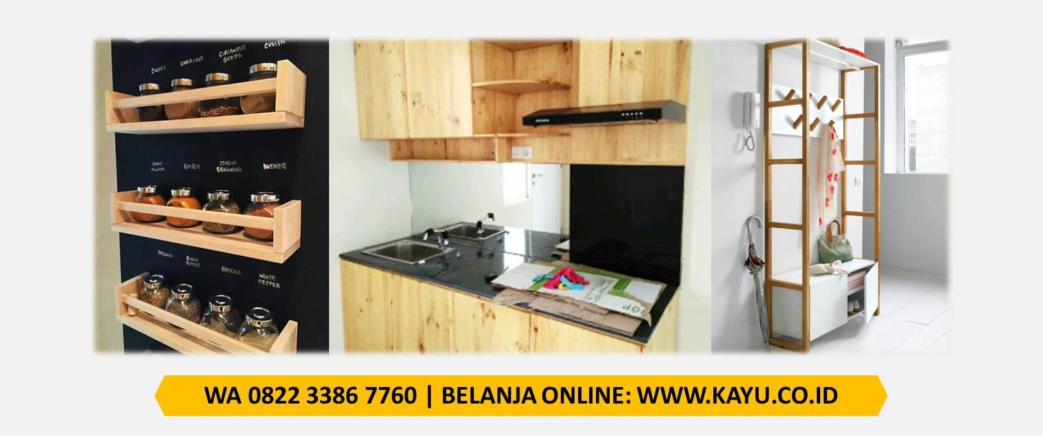 Kitchen Set Balok Living Kayu Jati Belanda Murah