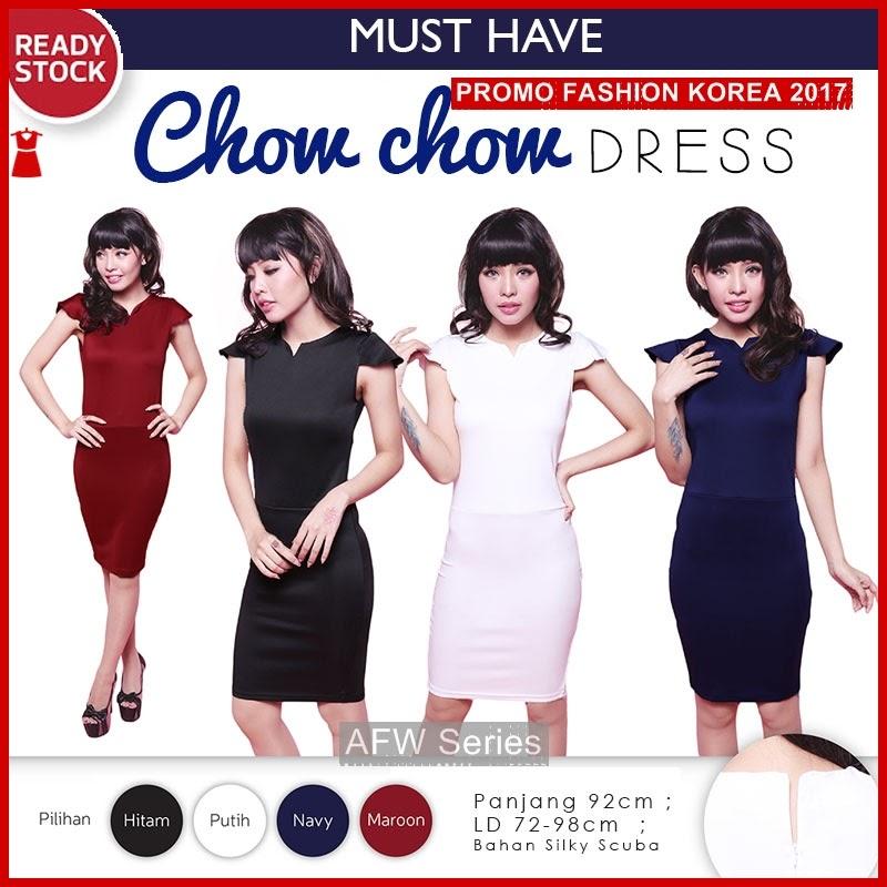 BAMFGW140 Chow Dress Wanita Wanita PROMO BMG